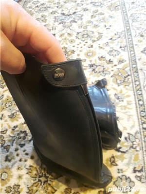 cizme de călărie din piele marca hugo boss  - imagine 6