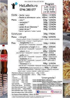 Firma de catering cu livrare la domiciliu in zona Belis Balcesti Rasca Dealu Negru Calatele  - imagine 5