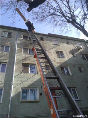 Inchiriez lift exterior pt materiale constructii - imagine 2