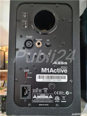 Vand Monitoare studio profesionale Alesis M1 Active 520 APROAPE NOI !! - imagine 3