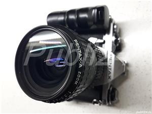 pachet camera PENTAX ME  + GRIP +OBIECTIV - imagine 4