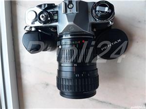 pachet camera PENTAX ME  + GRIP +OBIECTIV - imagine 1