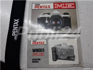 pachet camera PENTAX ME  + GRIP +OBIECTIV - imagine 8