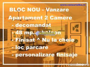 Ocazie ! Apartament 2 camere de vanzare in Cetate BLOC NOU Finisat la CHEIE sau NU ! - imagine 1