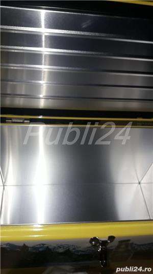 Vand Lada metalica aluminiu Cooler box NOUA(ambalata in tipla si cutie)ORIGINALA Bergenbier-NOUA - imagine 2