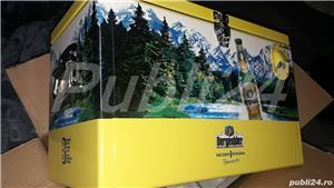 Vand Lada metalica aluminiu Cooler box NOUA(ambalata in tipla si cutie)ORIGINALA Bergenbier-NOUA - imagine 6