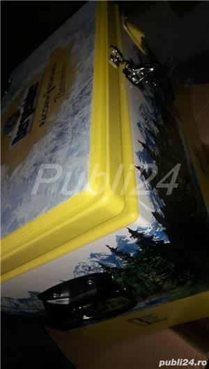 Vand Lada metalica aluminiu Cooler box NOUA(ambalata in tipla si cutie)ORIGINALA Bergenbier-NOUA - imagine 3