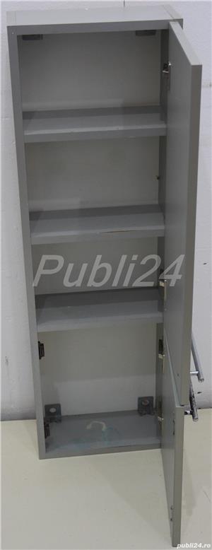 Dulapior suspendat cu usa; Corp solid de perete cu rafturi - imagine 5