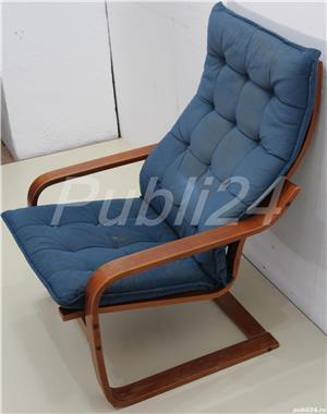 2 buc Fotoliu fix confortabil tip IKEA; Fotoliu cu Saltea - imagine 4