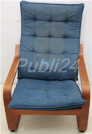 2 buc Fotoliu fix confortabil tip IKEA; Fotoliu cu Saltea - imagine 5