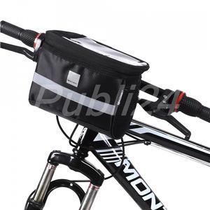 Geanta ghidon universal bicicleta trotineta suport telefon glovo bringo foodpanda - imagine 1