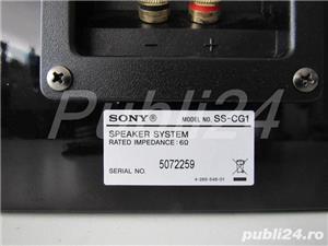 Vand pereche boxe Sony SS-CG1 Bookshelf HiFi Black Piano Finish - imagine 2