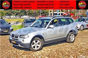 BMW X3 X-drive -GARANTIE 12 LUNI -REVIZIE+LIVRARE GRATUIT-TEST DRIVE-VANZARE CASH/RATE FIXE AVANS 0% - imagine 1