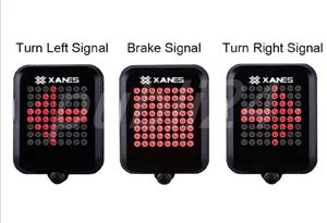 Stop bicicleta lumini viraje laser infrarosu - imagine 2