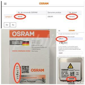 Bec xenon Osram D3S Original Xenarc 66340 4300k - imagine 3