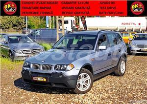 BMW X3 xDrive -garantie 12 luni -revizie+livrare GRATUIT -TESTDRIVE -vanzare CASH/RATE FIXE AVANS 0% - imagine 1