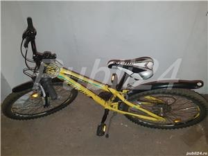 "Vand bicicleta MTB in stare buna pentru copii 8-10 ani, roti de 24"" - imagine 1"