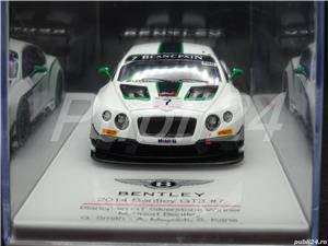 Macheta Bentley GT3 #7 2014 Silverstone winner TSM TrueScale Miniatures 1:43 - imagine 1