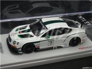 Macheta Bentley GT3 #7 2014 Silverstone winner TSM TrueScale Miniatures 1:43 - imagine 3