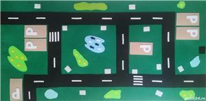Carte senzoriala din fetru oras - imagine 2