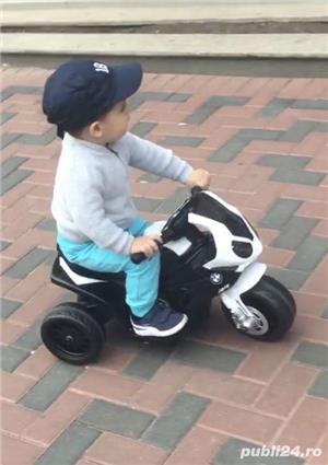 Motocicleta electrica copii BMW - imagine 2