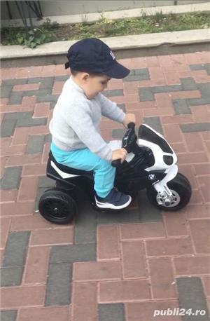 Motocicleta electrica copii BMW - imagine 4