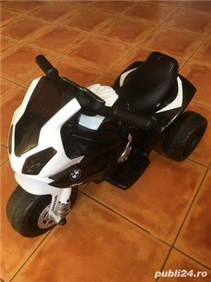 Motocicleta electrica copii BMW - imagine 6
