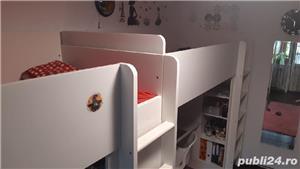 vand pat supraetajat IKEA pt copii - imagine 6
