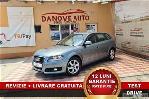Audi A3 Revizie + Livrare GRATUITE, Garantie 12 Luni, RATE FIXE, 1400 benzina, 2009, Euro 5 - imagine 1