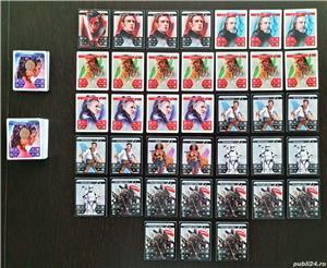 Star Wars cartonașe plasticate 55 de bucăți de la Kaufland - imagine 2