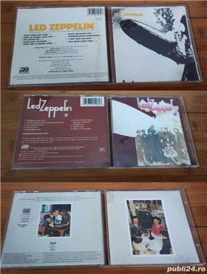 Led Zeppelin I , II și Presence CD originale + bonus - imagine 3
