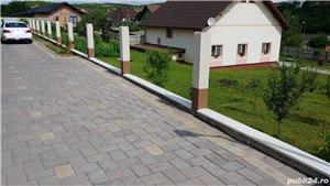 Capace palarii coame din beton alb si colorat pentru garduri si stalpi. Calitate extra! - imagine 7
