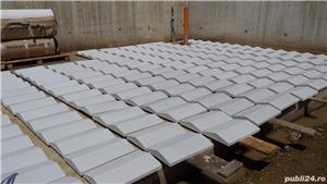 Capace palarii coame din beton alb si colorat pentru garduri si stalpi. Calitate extra! - imagine 9