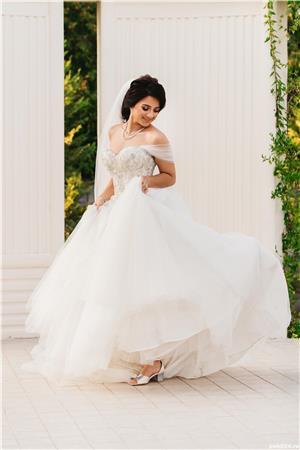Vând rochie de mireasa  - imagine 3