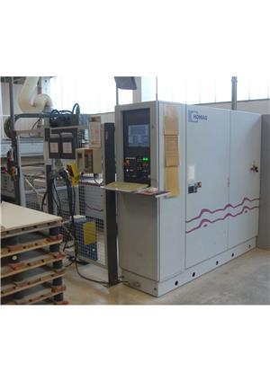 VAND CNC profesional Germania centru de prelucrare pentru mobilier lemn Optimat HOMAG BAZ 32/50/G  - imagine 3