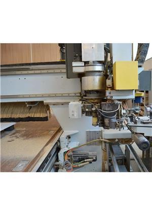 VAND CNC profesional Germania centru de prelucrare pentru mobilier lemn Optimat HOMAG BAZ 32/50/G  - imagine 7
