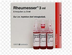 Vand Rheumesser 3 ml fiole - imagine 1