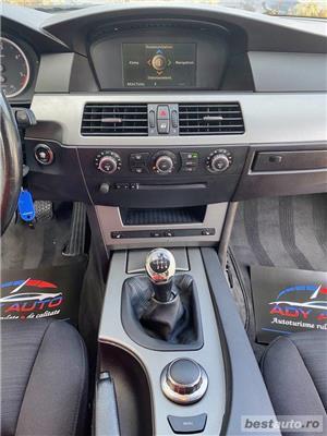 Bmw Seria 5 520d - CASH / RATE FIXE / LIVRARE GRATUITA / GARANTIE / BUY-BACK / AUTOTURISM VERIFICAT - imagine 20