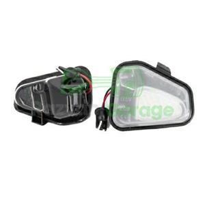 Set 2 lampi Led sub oglinda 6000k VW Passat CC B7 Jetta puddle lights - imagine 2