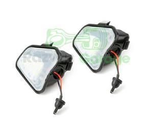 Set 2 lampi Led sub oglinda 6000k VW Passat CC B7 Jetta puddle lights - imagine 4