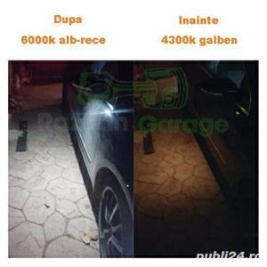 Set 2 lampi Led sub oglinda 6000k VW Passat CC B7 Jetta puddle lights - imagine 6