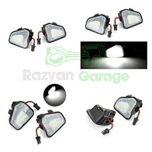 Set 2 lampi Led sub oglinda 6000k VW Passat CC B7 Jetta puddle lights - imagine 1