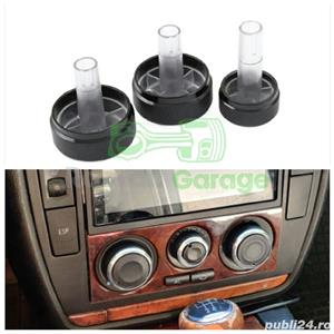 Set 3 butoane aer conditionat AC VW Golf 4 Bora Passat Skoda Seat Audi - imagine 1